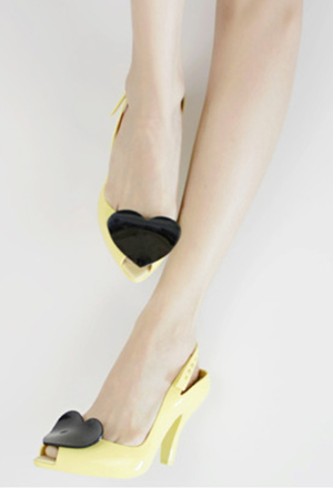 Vivienne Westwood  Yellow Lady Dragon shoes