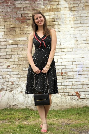 polka dots Anthropologie dress