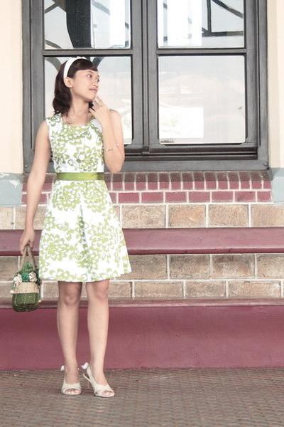 White Nicolette Accessories Green Akku Dress Diy Belt A Gift