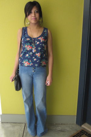 Heritage 1981 top - Uniqlo jeans - Forever 21 accessories