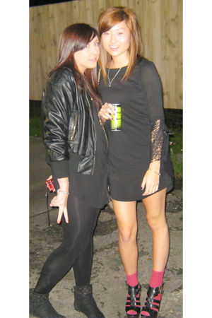 black Ruby dress - black Topshop shoes