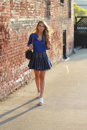 bcbg max azria skirt - Tibi heels