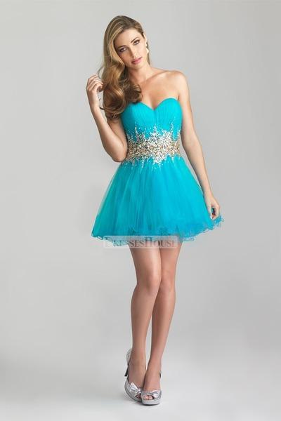 Sky Blue Blue 14535 Dress