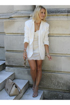 cream Topshop blazer - neutral Kurt Keiger heels