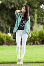 Mint-parka-ianywear-jacket-studded-bucket-sportsgirl-bag