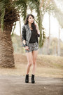 Contrast-sleeve-missguided-jacket-wedges-therapy-shoes