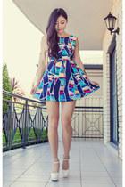 blue gallery St Frock dress