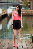 bubble gum sequin collar Taobao top - black gmarket shorts