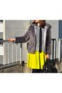 Black-h-m-bag-light-purple-asos-jacket-white-no-name-shirt