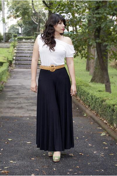 Shasa top - Shasa skirt - Zara heels