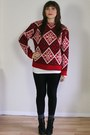 Norwegian-wool-vintage-sweater