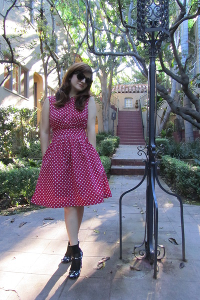 modcloth dress - Miu Miu shoes