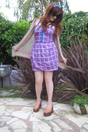 Rodarte for Target cardigan - Motel dress - vintage shoes