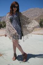 vintage dress - Dolce Vita shoes - Dooney & Bourke purse