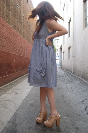 Pixie Market dress - Steve Madden shoes