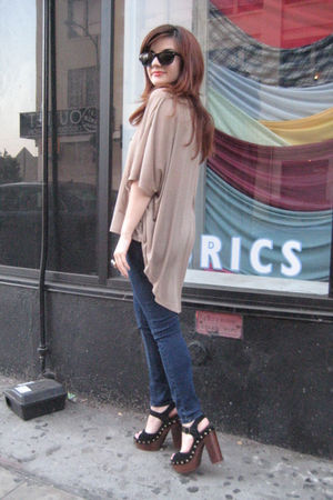 asos top - Urban Outfitters jeans - Jeffrey Campbell shoes