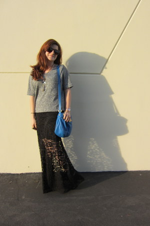 Forever 21 shirt - Marc by Marc Jacobs bag - Retro Superfuture sunglasses - heel