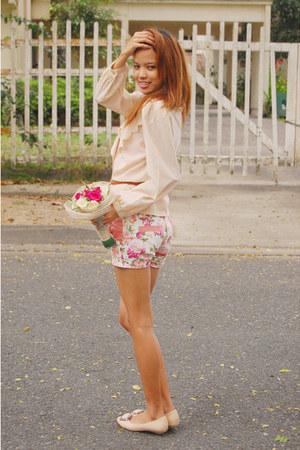 floral coco cabana shorts
