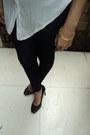 White-top-black-skirt-black-charles-keith-heels