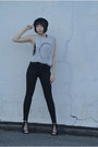 Black-jeffrey-campbell-shoes-black-bdg-jeans-silver-truly-madly-deeply-shirt