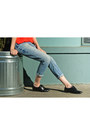 Black-oxfords-american-apparel-shoes-light-blue-gap-jeans