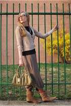 black lilla p shirt - olive green Marc by Marc Jacobs bag - light brown Urban 19