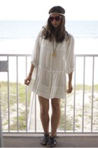 ivory free people dress