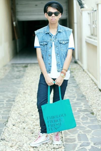 jeans unbranded vest - cotton United Inv t-shirt