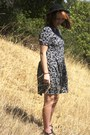 Urban-outfitters-dress-boater-hat-jelly-dsw-sandals