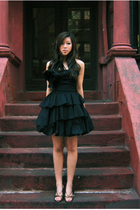 black i designed it Echo Mah dress