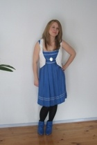 alice mccall dress - TL Wood vest - Omni shoes