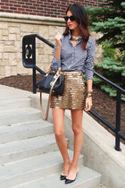 BCBG skirt - Jcrew top
