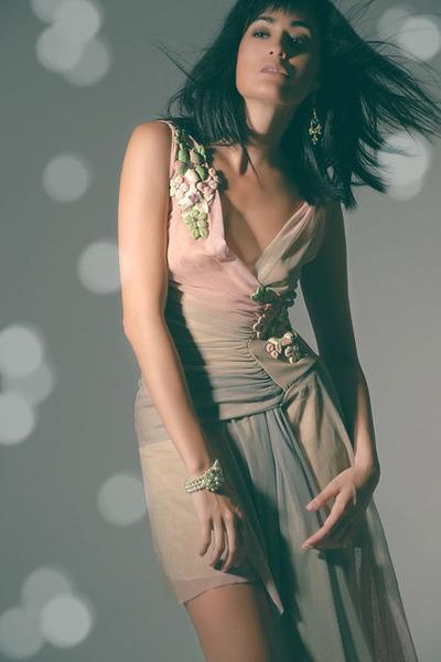 pink Thrift Store dress