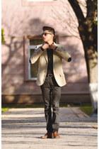beige c&a blazer