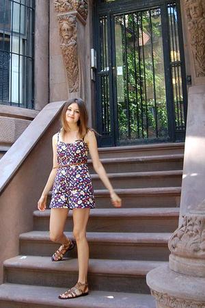 Topshop dress - asos belt - new look shoes