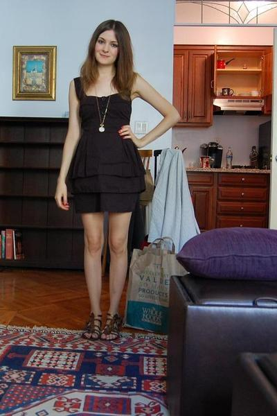 Topshop Boutique dress - new look shoes - Topshop necklace