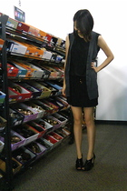 shipley & halmos for uniqlo dress - forever 21 vest - Steve Madden shoes