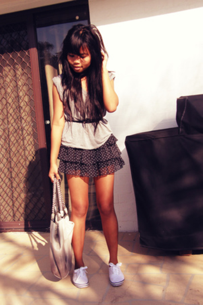 Target skirt - cotton on shoes - Prada purse - Gripp Jeans shirt