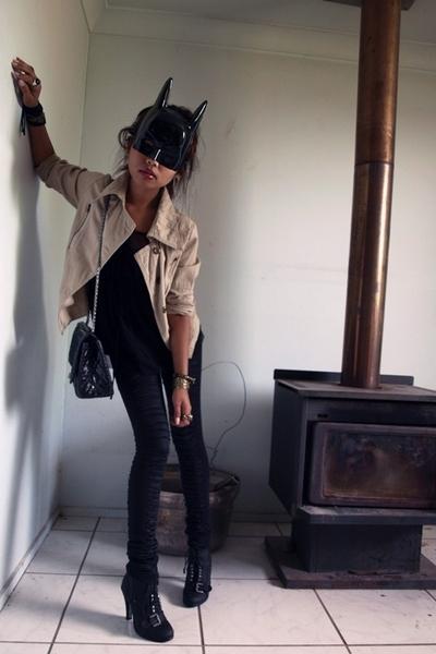 Sass and Bide pants - Chanel accessories - bardot shoes