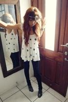 sass shirt - Sass and Bide pants - Mollini shoes