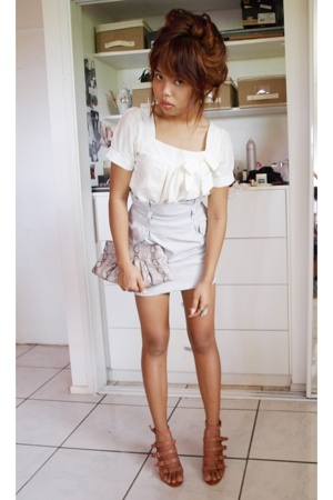 bardot dress - Powerhouse skirt - tony bianco shoes - Target accessories