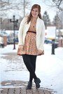 H-m-boots-mata-traders-dress-cream-old-navy-cardigan