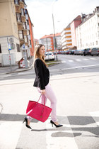 H&M jeans - H&M blazer - Michael Kors bag