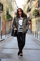 heather gray victoria rockera sweatshirt - red Etnia Barcelona sunglasses