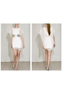 White-mike-vensel-dress