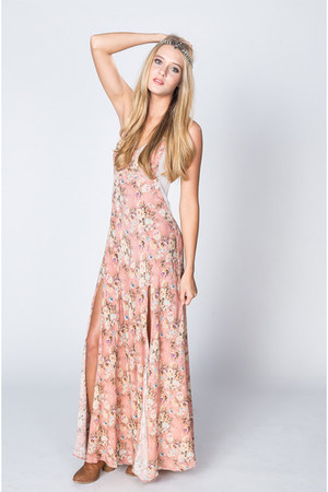 maxi Somedays Lovin dress - Gypsy Junkie hair accessory