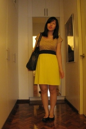 Graxie dress - H&M purse - H&M shoes