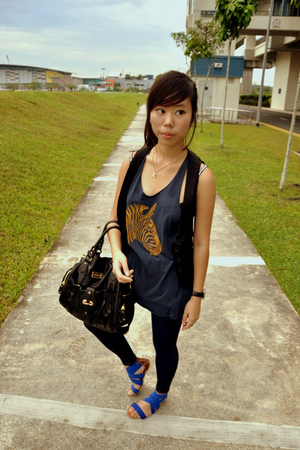 Topshop top - Charles & Keith accessories - rubi shoes - Chanel accessories - Za
