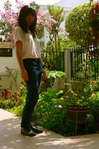 cotton on shirt - Uniqlo jeans - H&M shoes