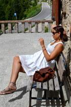 sportmax dress - Prada bag - Stefanel sandals